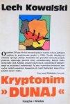 Lech Kowalski • Kryptonim Dunaj