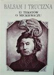 Ewa Graczyk, Zbigniew Majchrowski • Balsam i trucizna. 13 tekstów o Mickiewiczu