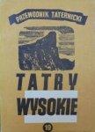 Witold H. Paryski • Tatry wysokie. Przewodnik taternicki część 19