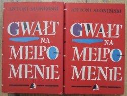 Antoni Słonimski • Gwałt na Melpomenie [Jerzy Jaworowski]