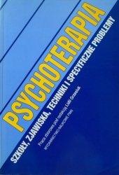Lidia Grzesiuk • Psychoterapia. Szkoły, zjawiska, techniki i specyficzne problemy