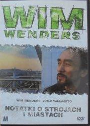 Wim Wenders • Notatki o strojach i miastach • DVD