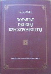 Dorota Malec • Notariat Drugiej Rzeczypospolitej