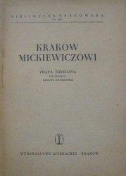 red. Danuta Rederowa • Kraków Mickiewiczowi [Biblioteka Krakowska 110]