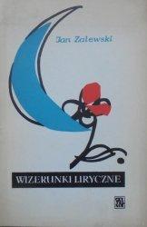 Jan Zalewski • Wizerunki liryczne [Barbara Kusak-Pawlikowska]