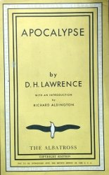 D.H. Lawrence • Apocalypse