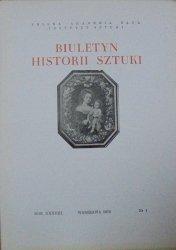Biuletyn Historii Sztuki 1/1976 • [enkolpiony kijowskie, Imbramowice, pasy kontuszowe]