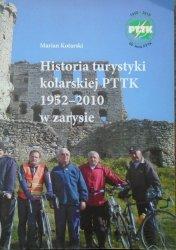 Marian Kotarski • Historia turystyki kolarskiej PTTK 1952-2010 w zarysie