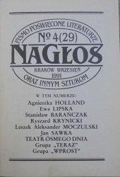 Nagłos nr 4/1991 • [Holland, Lipska, Barańczak, Kornhauser]
