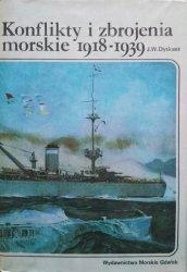 Józef Wiesław Dyskant • Konflikty i zbrojenia morskie 1918-1939