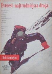 Chris Bonington • Everest - najtrudniejsza droga