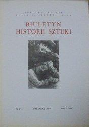 Biuletyn Historii Sztuki 3/4-1972 • [ikonografia, płyty nagrobne, arrasy, Kościół Mariacki, Miechów]