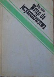 John Lyons • Wstęp do językoznawstwa