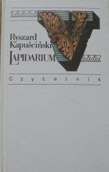Ryszard Kapuściński • Lapidarium V