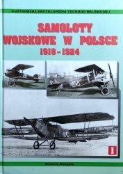 Andrzej Morgała • Samoloty wojskowe w Polsce 1918 - 1924
