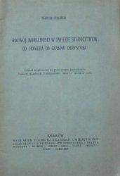 Tadeusz Zieliński • Rozwój moralności w świecie starożytnym od Homera do czasów Chrystusa