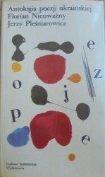 Florian Nieuważny, Jerzy Pleśniarowicz • Antologia poezji ukraińskiej