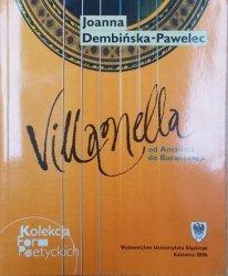 Joanna Dembińska-Pawelec • Villanella od Anonima do Barańczaka [Dylan Thomas, Sylvia Plath, James Joyce, Auden, Elizabeth Bishop]