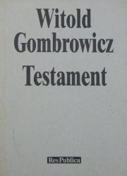 Witold Gombrowicz • Testament