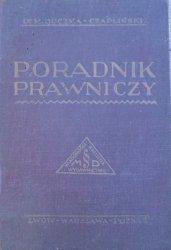 Dr. Marek Buczma-Czapliński • Poradnik prawniczy [1928]