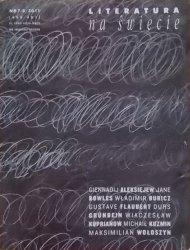 Literatura na świecie 7-8/2011 • Gustave Flaubert