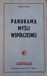 Geatan Picon • Panorama myśli współczesnej [Carnap, Merleau-Ponty, Sartre, Heidegger, Jung, Jaspers, Simone Weil , Camus]