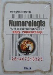 Małgorzata Brzoza • Numerologia. Klucz do poprzednich wcieleń. Kody reinkarnacji