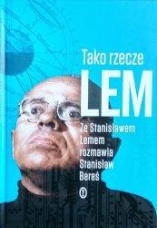 Stanisław Lem, Stanisław Bereś • Tako rzecze Lem