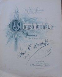 Jan Ostrowski • Ojczyste dźwięki. Polonez na fortepian