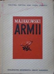 Włodzimierz Majakowski • Majakowski Armii. 25 wierszy Włodzimierza Majakowskiego poświęconych Armii Radzieckiej [Ignacy Witz]