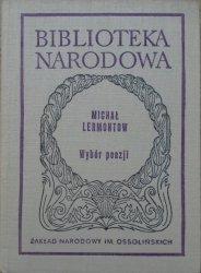 Michał Lermontow • Wybór poezji