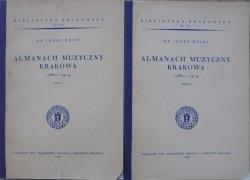 Dr Józef Reiss • Almanach muzyczny Krakowa 178-1914 [Biblioteka Krakowska 102]