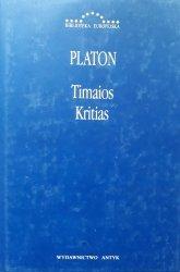 Platon • Timajos. Kritias [Biblioteka Europejska]
