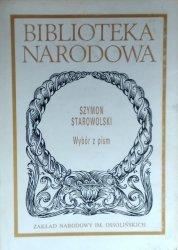 Szymon Starowolski • Wybór pism