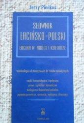 Jerzy Pieńkos • Słownik łacińsko-polski. Łacina w nauce i kulturze