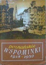 praca zbiorowa • Poznańskie wspominki z lat 1918-1939