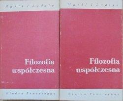 red. Zbigniew Kuderowicz • Filozofia współczesna [Husserl, Sartre, Heidegger, Carnap, Wittgenstein]