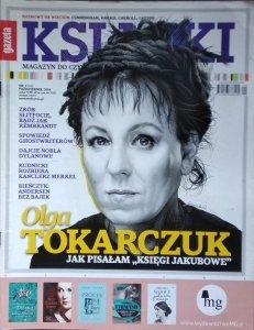 Książki • Magazyn do czytania nr 14 [Olga Tokarczuk, Eleanor Catton, Paul Bowles]