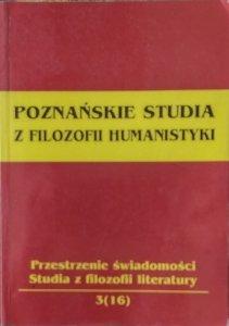 Andrzej Falkiewicz • Poznańskie studia z filozofii humanistyki  [Leśmian, Gombrowicz]
