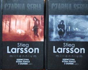 Stieg Larsson • Dziewczyna, która igrała z ogniem
