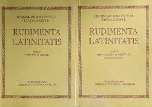 Stanisław Wilczyński • Rudimenta latinitatis