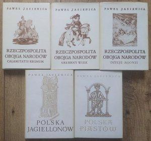 Paweł Jasienica • Polska Piastów. Polska Jagiellonów. Rzeczpospolita Obojga Narodów [komplet]