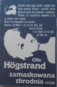 Olle Hogstrand • Zamaskowana zbrodnia