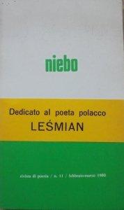 Bolesław Leśmian • Niebo [wydanie włosko-polskie]