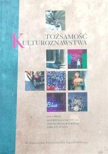Andrzej Pankowicz • Tożsamość kulturoznawstwa