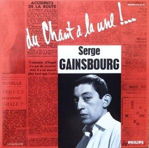 Serge Gainsbourg • Du Chant À La Une !… • CD