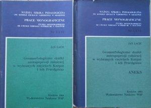 Jan Lach • Geomorfologiczne skutki antropopresji rolniczej w wybranych częściach Karpat i ich Przedgórza [komplet]