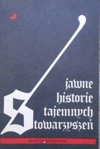 Jacek Golędzinowski • Jawne historie tajemnych stowarzyszeń