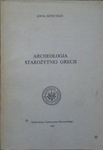 Zofia Sztetyłło • Archeologia starożytnej Grecji