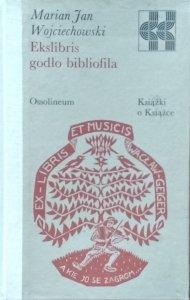 Marian Jan Wojciechowski • Ekslibris godło bibliofila